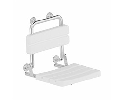LEHNEN-FUNKTION-shower-seat-with-back-rest-polished