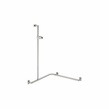 LEHNEN EVOLUTION Shower handrail with shower head rail, 76 x 76 x 110 cm, left