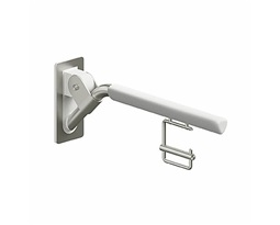 LEHNEN-EVOLUTION-85-cm-Bow-type-folding-handrail-with-toilet-paper-holder
