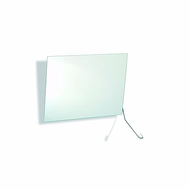LEHNEN EVOLUTION Tiltable mirror with operating lever, 60 x 45 cm