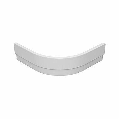 Panel for STANDARD PLUS 90 shower trays, half-round