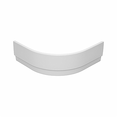 Panel for XBN0390 shower tray, half-round