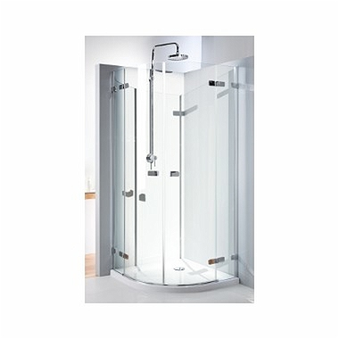 NEXT half-round corner shower enclosure 90 x 90 cm, wing doors