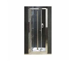 GEO 6 80 cm Bifold doors to the niche, transparent glass