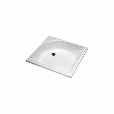 DEEP 80 square shower tray