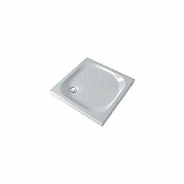 XENO 90 square shower tray, rifle bottom