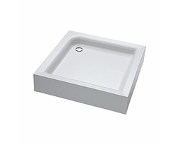 STANDARD PLUS 90 square shower tray with integrated panel