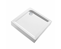 FIRST-80-square-shower-tray-with-integrated-panel