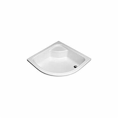 DEEP 90 half-round shower tray
