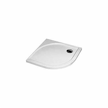 AKCENT 90 half-round shower tray