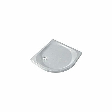 XENO half-round shower tray, rifle bottom