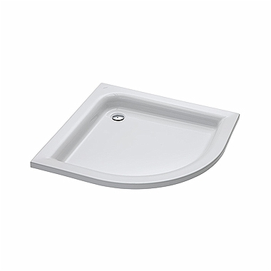 STANDARD PLUS 90 half-round shower tray