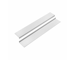 Set-of-profiles-for-UNI-2-panels-mounting-in-niche-frontal-Colour-white