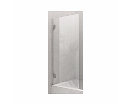 NIVEN one-part bathtub screen 70 x 140 cm, right