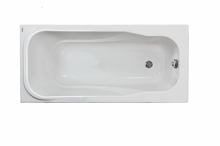 AQUALINO rectangular bathtub 170 x 75 cm