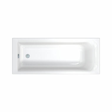 REKORD rectangular bathtub 170 x 75 cm + legs SN0
