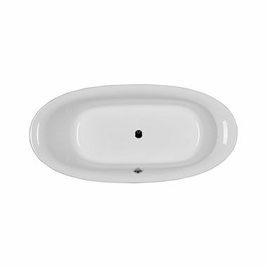 PROGRESS oval bathtub 180 x 85 cm + legs SN8