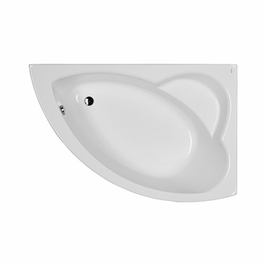NEO PLUS asymmetrical bathtub 160 x 100 cm, right + legs SN7