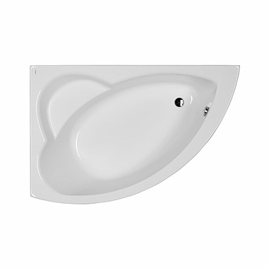 NEO PLUS asymmetrical bathtub 140 x 100 cm, left + legs SN7
